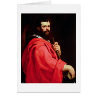 St. James the Apostle, c.1612-13 (oil on panel) Greeting Card
