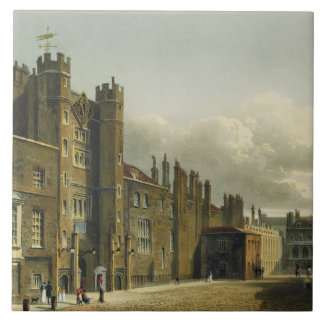 St. James's Palace, from 'The History of the Royal Tile