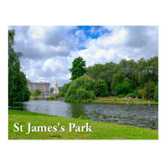 St James's Park London UK Postcard