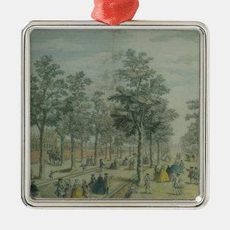 St. James's Park taken near the Stable Yard, 1750 Christmas Ornament