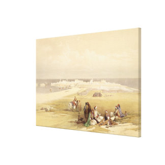 St. Jean d'Acre, April 24th 1839, plate 65 from Vo Canvas Print