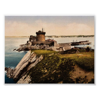 St Jean de Luz Fort Socoa Pyrenees France clas Posters
