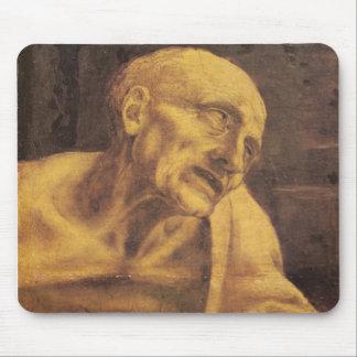 St. Jerome by Leonardo da Vinci circa 1481 Mouse Pad