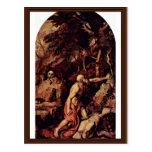 St. Jerome By Tizian (Best Quality) Postcard