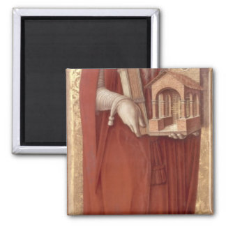 St.Jerome, c.1476 Square Magnet