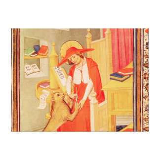 St. Jerome Canvas Print