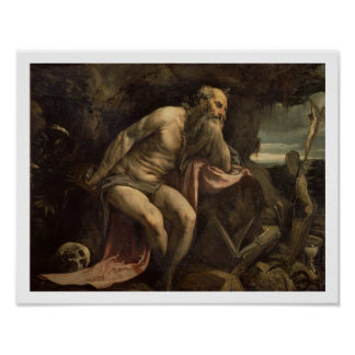St. Jerome, early 1560s (oil on canvas) Poster