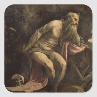 St. Jerome, early 1560s (oil on canvas) Sticker