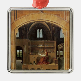 St. Jerome in his study, c.1475 Christmas Ornament