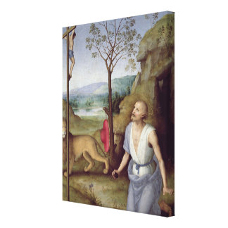 St. Jerome in the Desert, c.1499-1502 Canvas Print