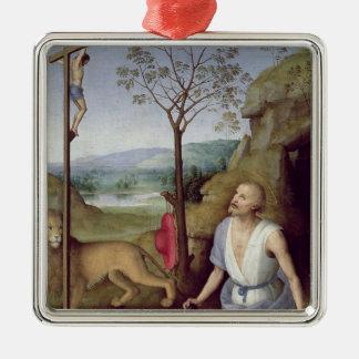 St. Jerome in the Desert, c.1499-1502 Christmas Ornament