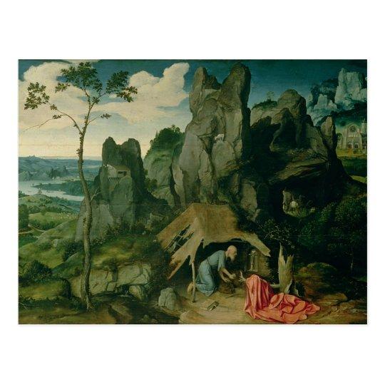 St. Jerome in the Desert (oil on panel)
