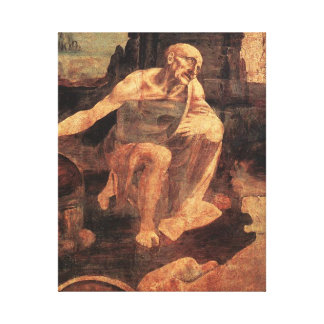 St Jerome in the Wilderness Gallery Wrap Canvas