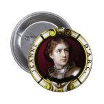 St. Joan of Arc 6 Cm Round Badge