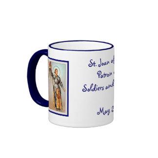 St. Joan of Arc Ringer Mug