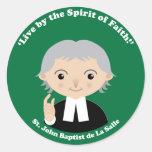 St. John Baptist de La Salle Sticker