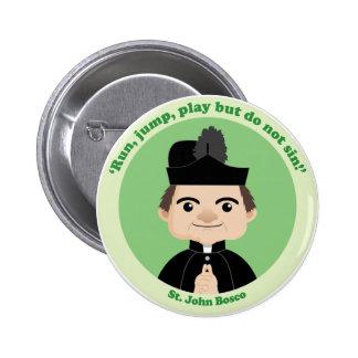 St. John Bosco 6 Cm Round Badge