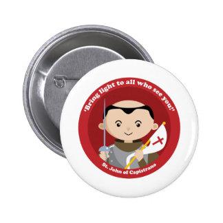 St. John Capistrano 6 Cm Round Badge
