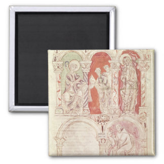 St. John Cassian writing and monks offering Magnet