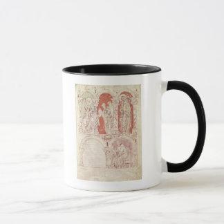 St. John Cassian writing and monks offering Mug