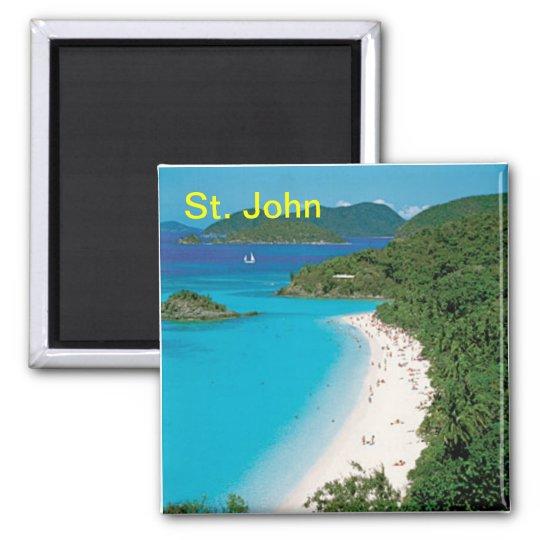 St. John magnet