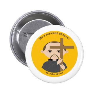 St. John of God 6 Cm Round Badge
