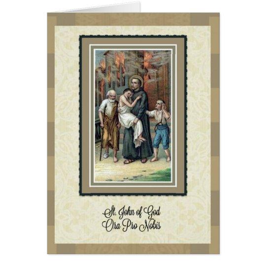 St. John of God Anniversary of Priesthood Card