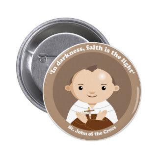 St. John of the Cross 6 Cm Round Badge