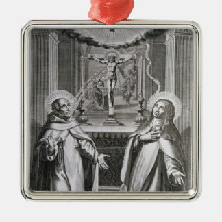 St. John of the Cross and St. Theresa of Avila Christmas Ornament