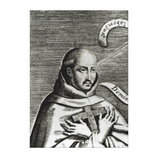 St. John of the Cross, detail Canvas Prints
