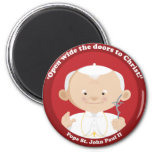 St John Paul II Magnet
