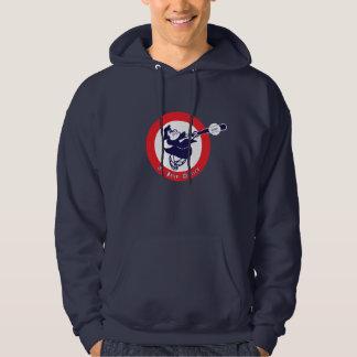 St. John Retro Navy Hoodie