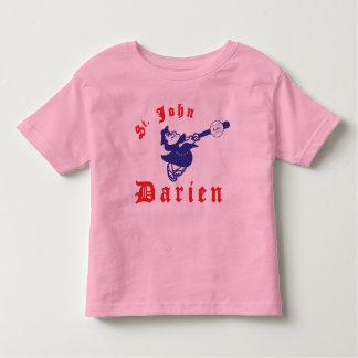 St. John Royal/Pink Ringer - Toddler T-shirts