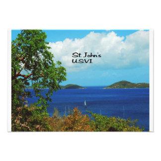 St John s U S V I Personalized Invitation