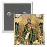 St. John the Baptist, Angel of the Wilderness 15 Cm Square Badge