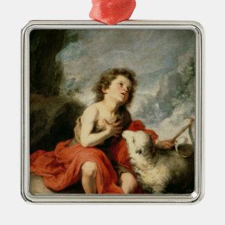 St. John the Baptist as a Child, c.1665 Christmas Ornament