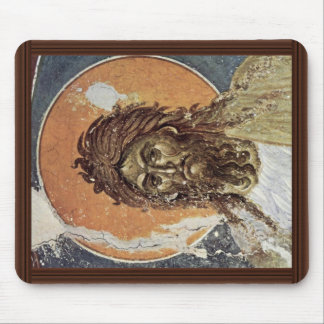 St. John The Baptist By Meister Von Gracanica  (Be Mouse Pad