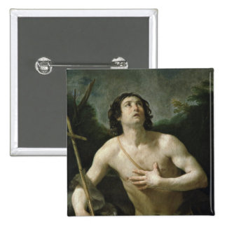 St. John the Baptist, c.1635-40 15 Cm Square Badge
