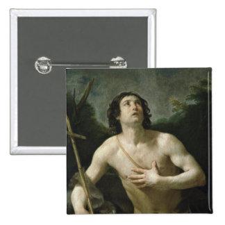 St. John the Baptist, c.1635-40 Pinback Button