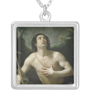 St. John the Baptist, c.1635-40 Silver Plated Necklace