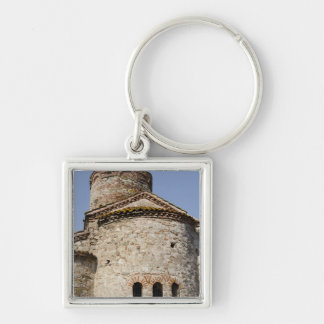 St. John the Baptist cruciform church Key Ring