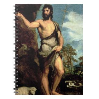 St. John the Baptist Note Book
