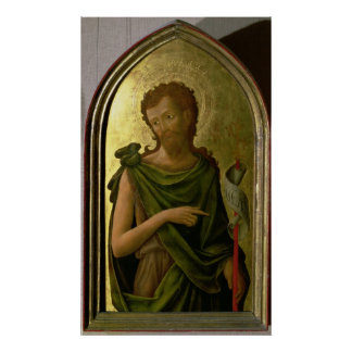 St. John the Baptist Poster