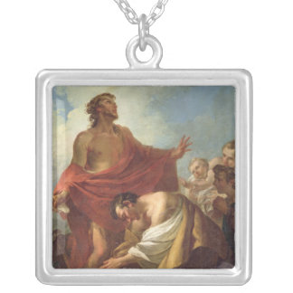 St. John the Baptist Silver Plated Necklace
