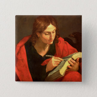 St. John the Evangelist 15 Cm Square Badge