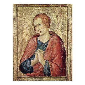 St. John The Evangelist By Martini Simone Full Color Flyer