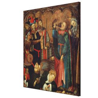 St. John the Evangelist Drinking Canvas Print