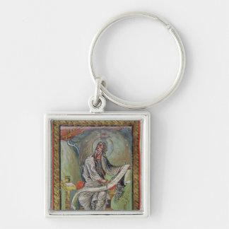 St. John the Evangelist, from the Ebbo Gospels Key Ring