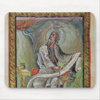 St. John the Evangelist, from the Ebbo Gospels Mouse Pad