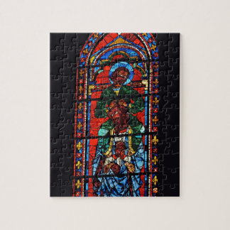 St. John the Evangelist riding the shoulders of Ez Jigsaw Puzzle